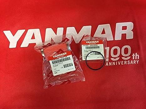 Genuine Yanmar Marine Engine 3YM20 Fuel Filter Strainer O-Ring 24341-000440