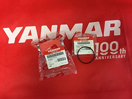 Yanmar Engine Parts (Yanmar Kit Fuell Filter 104500-55710 O-ring 24341-000440 2GM (F)(20) 3GM (F)(30))