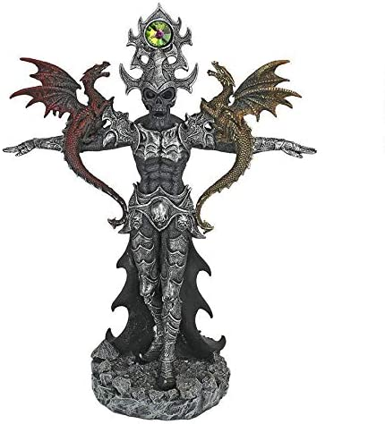 Design Toscano QS293500 Master of The Dark Skeleton Warrior Statue