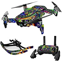 MightySkins Skin for DJI Mavic Air Drone - Acid | Max Combo Protective, Durable, and Unique Vinyl Decal wrap cover | Easy To Apply, Remove, and Change Styles | Made in the USA