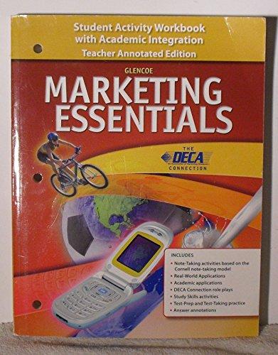 Glencoe Marketing Essentials Teacher Annotated Edition