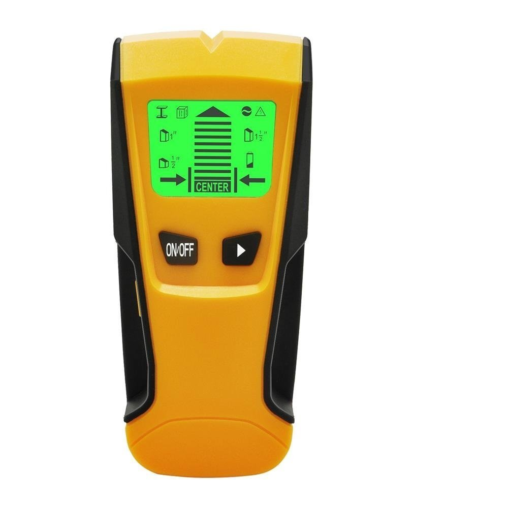 Stud Finder, IMAITC Multi-Function Wall Stud Sensor Detector Scanner with Live AC Wire Wood Scanner Warning Detection, Battery Included