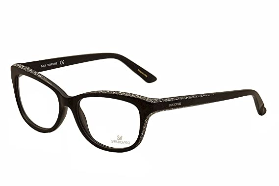 1d62b4cbe7 Eyeglasses Swarovski SK 5100 SK5100 002 matte black at Amazon Men s ...