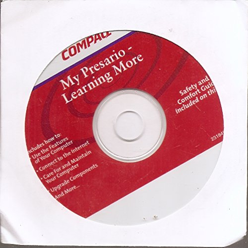 Compaq Compaq Cd - Compaq My Presario - Learning More CD