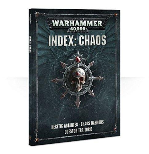 Games Workshop Warhammer 40K Index: Chaos