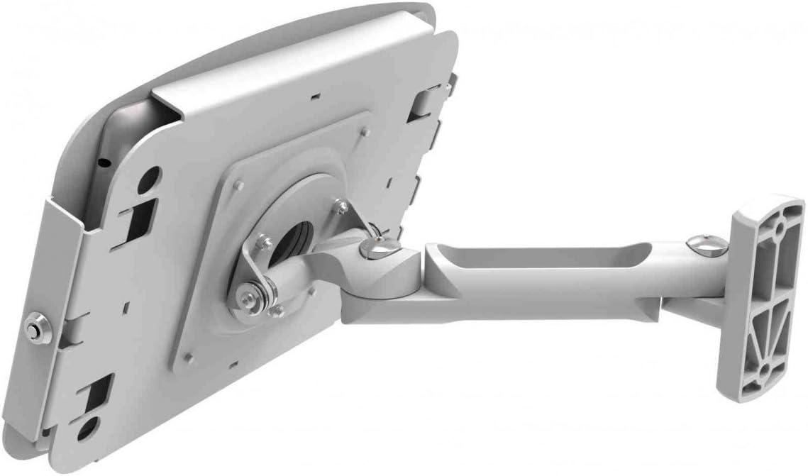 827B235SMENB Maclocks Space Enclosure with Swing Arm Wall Mount for ipad-Mini Black