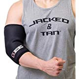 Sling Shot Mark Bell Strong Elbow Sleeves for Lifting Support and Elbow Protection, 5 Millimeters Thick, Level 3 Compression