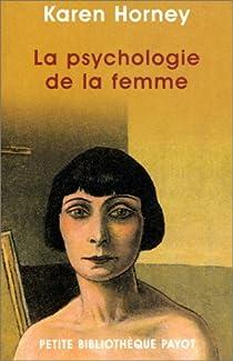 La psychologie de la femme par Horney
