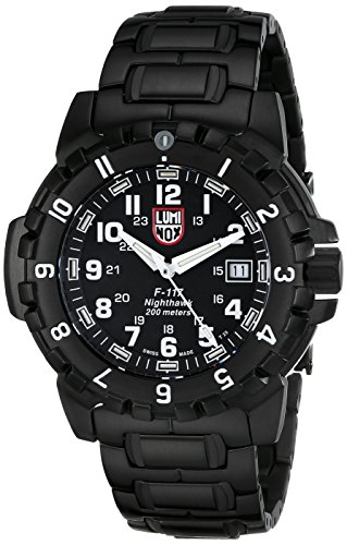 Luminox Men's A.6402  F-117 Nighthawk Analog Quartz Sapphire Glass Watch (Luminox Pvd)