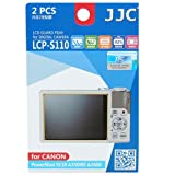 JJC LCP-S110 ultra hard polycarbonate LCD Film Screen Protector For Canon S110 A3500IS A2600 Camera