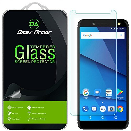 BLU Life One X3 Screen Protector, [2-Pack] Dmax Armor Tempered Glass for BLU Life One X3