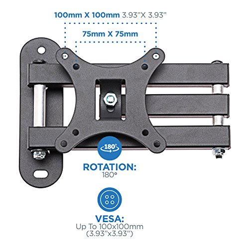 """TV Wall Mount Full Motion 15"""" Most to TVs"""