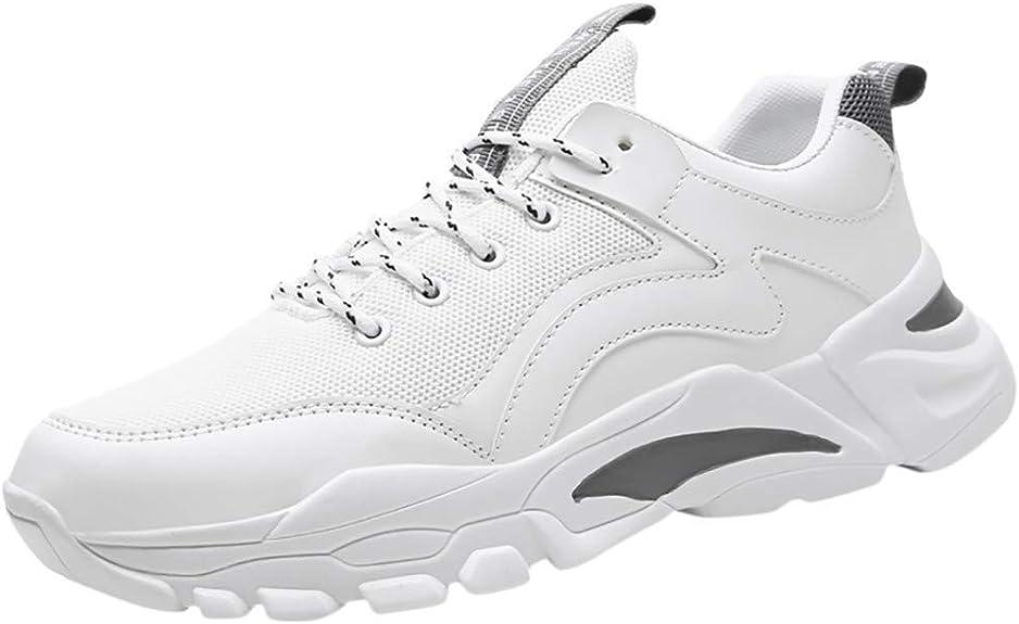 OPAKY Zapatillas de Deporte Respirable Sneakers Zapatillas Running para Hombre Zapatos de Correr Transpirables de Malla para Hombres Zapatillas de Deporte Casuales al Aire Libre Zapatos de Viaje: Amazon.es: Zapatos y complementos