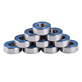Miniature Bearing Double Ball Steel Ball Bearing Small For Printer Quadcopter