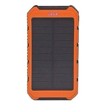 FancyswES8eety Banco de energía Solar Cargador portátil ...
