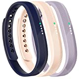 honecumi Replacement Bands Compatible with Fitbit Flex 2 Watch Band/Strap/Bracelet Wrist Band with Metal Clasp for Men Women-Colorful Pattern Adjustable Large Small Size Watch Wrist Band Accessory