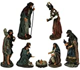 7 Piece Tuscan Christmas Nativity Scenes [27406]