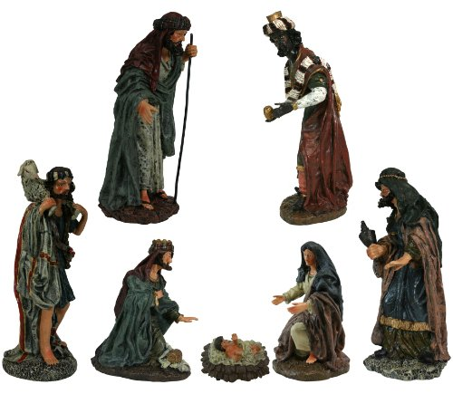 7 Piece Tuscan Christmas Nativity Scenes [27406] by Nativity Figurines