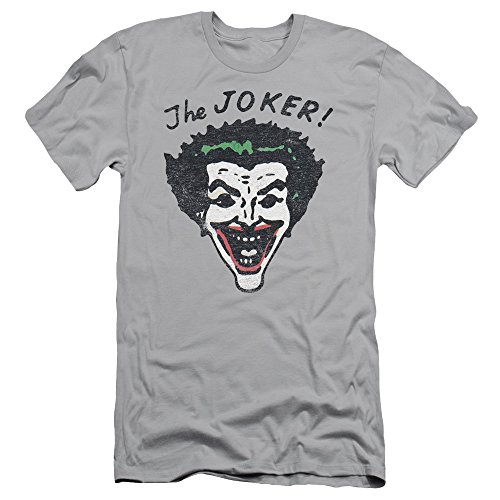 Batman+Retro+Shirts Products : Batman - Mens Retro Joker Slim Fit T-Shirt