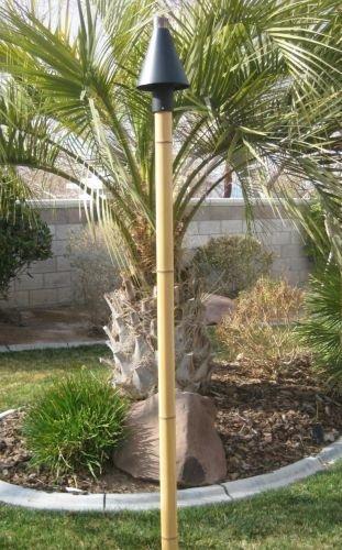 Cheap X-Treme Fire Designz Faux Bamboo Tiki Pole – 6′