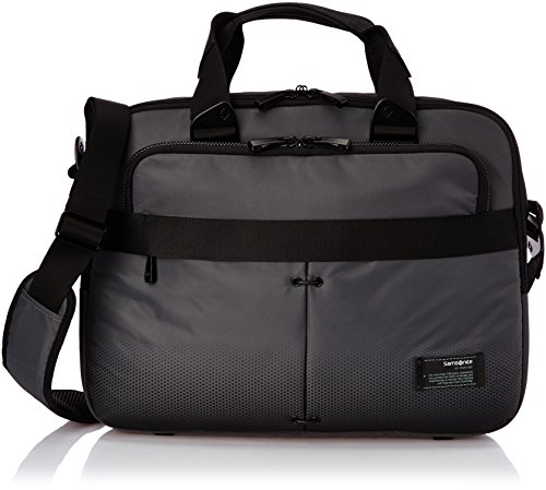 "Samsonite Cityvibe Slim Bailhandle 16"" Laptop-Tasche, Ash Grey"