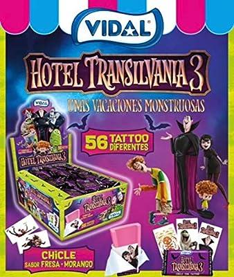 Chicles HOTEL TRANSYLVANIA 3 Vidal caja con 200 Unidades: Amazon.es: Alimentación y bebidas