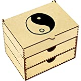 Azeeda 'Yin & Yang' Vanity Case / Makeup Box (VC00003972)