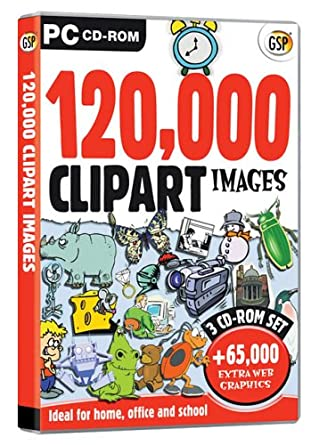 120,000 Clipart: Amazon.co.uk: Software
