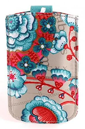 Oilily Summer Flowers Samsung Galaxy S4 Hülle Case Hardcase Rose