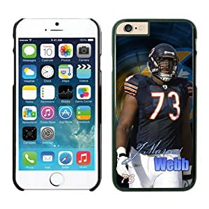 NFL Chicago Bears JMarcus Webb iPhone 6 Plus Case Black 5.5 Inches NFLIphone6PlusCases12967