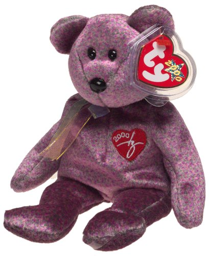 Amazon.com  Beanie Babies Ty 2000 Signature Bear  Toys   Games 857383cf8dc
