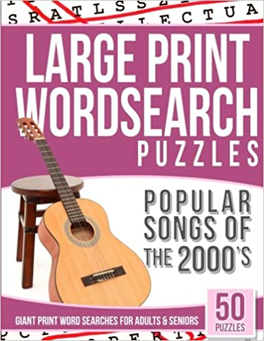 Buy Word Search Puzzles Popular Songs of 2000s: Word
