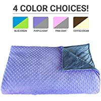 Premium Weighted Blanket, Perfect Size(XL) and...