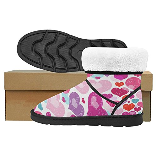 Scarponi Da Neve Womens Interestprint Stivali Invernali Unici Dal Design Esclusivo Multi 11