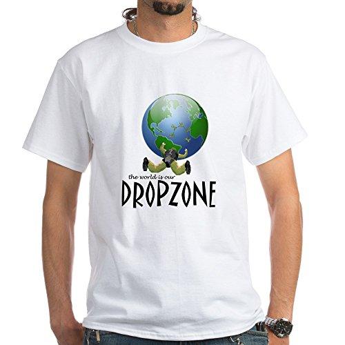 - 100% Cotton T-Shirt, White (Drop Zone Army Navy)