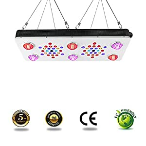 BloomBeast C850 850w Full Spectrum LED Grow Lights 13-Band Hydroponic Plants Dimmable Grow Lights with UV & IR for Indoor Greenhouse Medical Plant