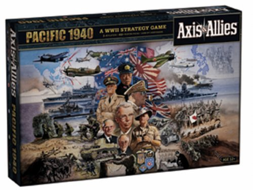 Axis And Allies Pacific 1940 1st Edition (2010 refresh) (Axis And Allies Global 1940 Second Edition Strategy)