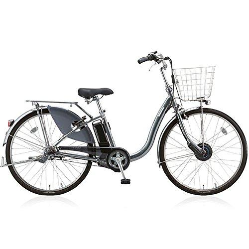 BRIDGESTONE(ブリヂストン) 18年モデル フロンティアデラックス F4DB38 24インチ 電動アシスト自転車 専用充電器付 B076S4GF5N M.スパークルシルバー M.スパークルシルバー