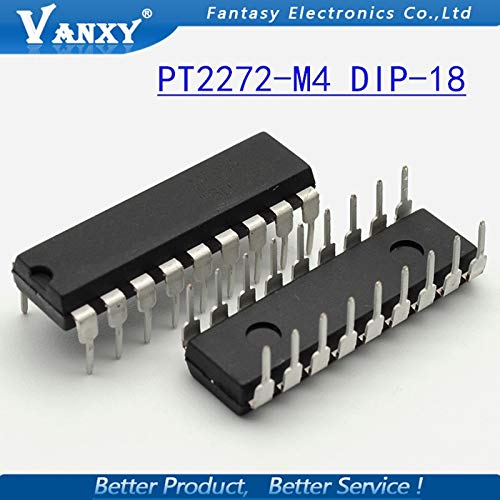 10PCS PT2272-M4 DIP18 PT2272 DIP 2272-M4 DIP-18 New and Original IC