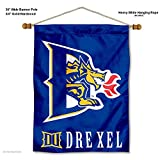 40 inch dragon wall fan - College Flags and Banners Co. Drexel Dragons Banner with Hanging Pole