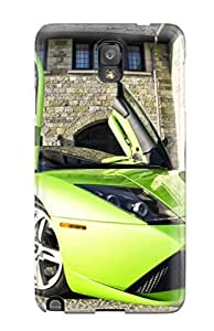 Caronnie Case Cover For Galaxy Note 3 - Retailer Packaging Lamborghini Protective Case