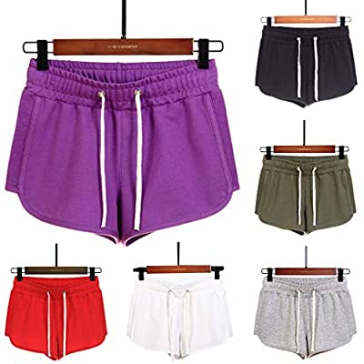 Yeyamei Yoga Shorts for Women Plus Size, Quick-Dry Loose Running Shorts Sports Workout Shorts for Women Gym Athletic Shorts at  Women's Clothing store