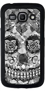 Funda para Samsung Galaxy ACE 3 S7272/A7275 - Sugarskull Polígono B & W by More colors in life