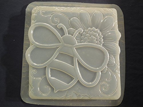 Bumble Bee with Sunflower Stepping Stone Mold 1305