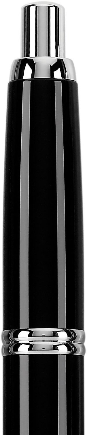 Pilot Vanishing Point Collection Retractable Fountain Pen, Black with Rhodium Accents, Blue Ink, Extra Fine Nib (60341) by Pilot (Image #5)
