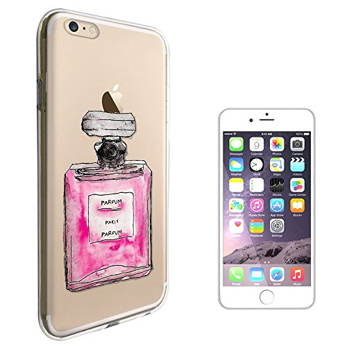 "C01589 - Pink Perfume Bottle Design iphone 7 Plus 5.5"" Fashion Trend Protecteur Coque Gel Rubber Silicone protection Case Coque"