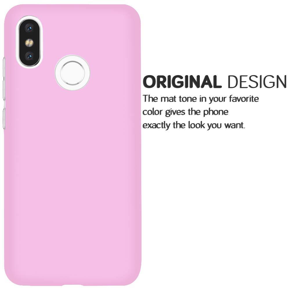 United Case Funda Ligera para Xiaomi Mi 8 en Negro TPU Bumper