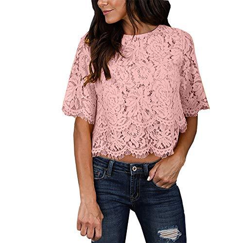 YKARITIANNA 2019 New Soft Hot Fashion Women Casual Tank Top Blouse Short Sleeve O Neck Print Lace Top T-Shirt