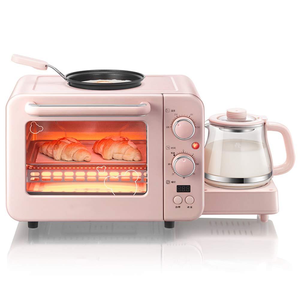 HENRYY Macchina per la Colazione Domestica Multifunzione Macchina per la Colazione tostapane Piccolo Forno Elettrico Elettrico Macchina per l'isolamento di Omelette offerta