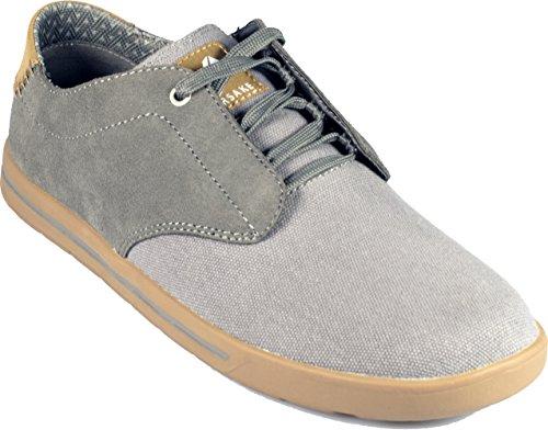 Abbandonare Phil Pizzo - Mens Tela Casuale Acciaio Sneaker Low-top